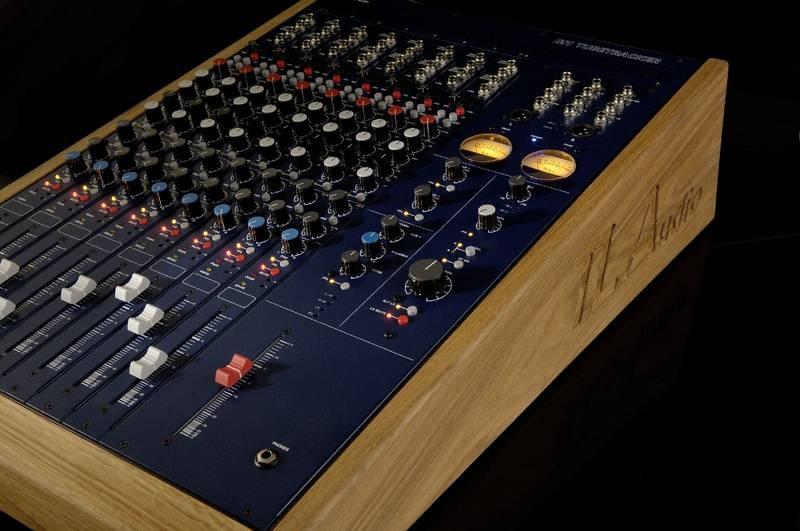 Test: Analogmischpult TL Audio M1 Tubetracker