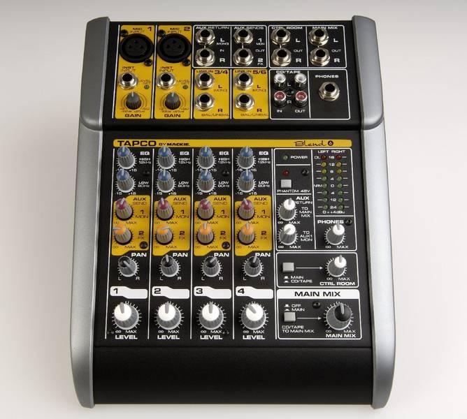 Test: 6-Kanal Mixer Tapco Blend 6