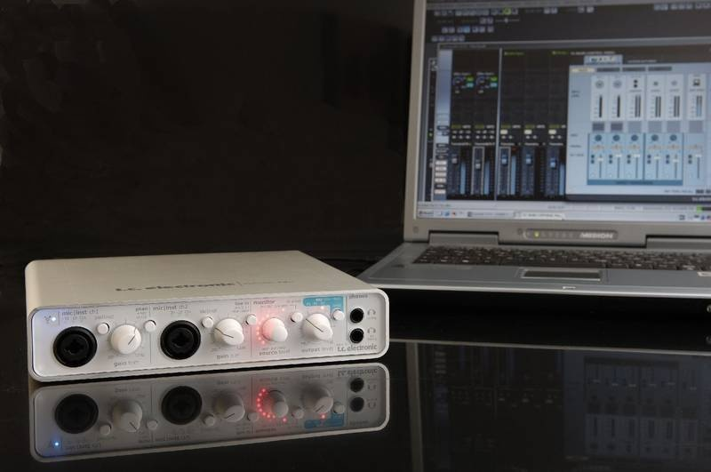 Test: Firewire-Audio-Interface T.C. Electronic Konnekt 24D