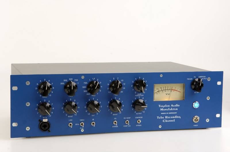 Test: Channel Strip Tegeler Tube Recording Channel