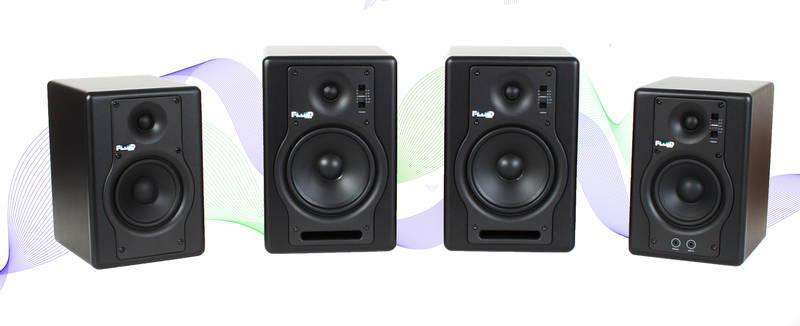 Test: Nahfeldmonitore Fluid audio F4 und F5