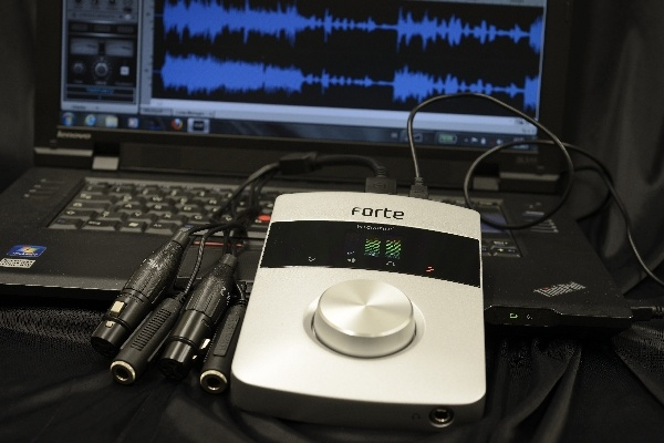 Test: USB-Audio-Interface Focusrite Forte