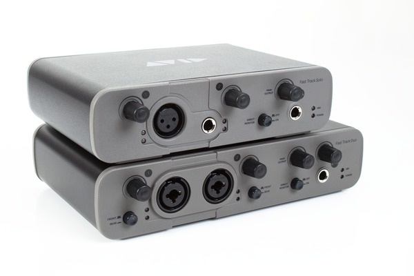 Test: USB-Audio-Interface Avid Fast Track Solo und Duo