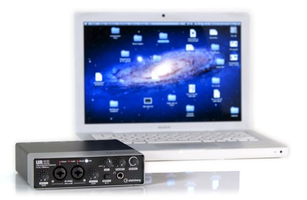 Test: USB-Audio-Interface Steinberg UR 22