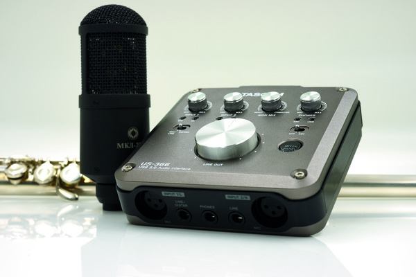 Test: USB-Audio-Interface Tascam US-366
