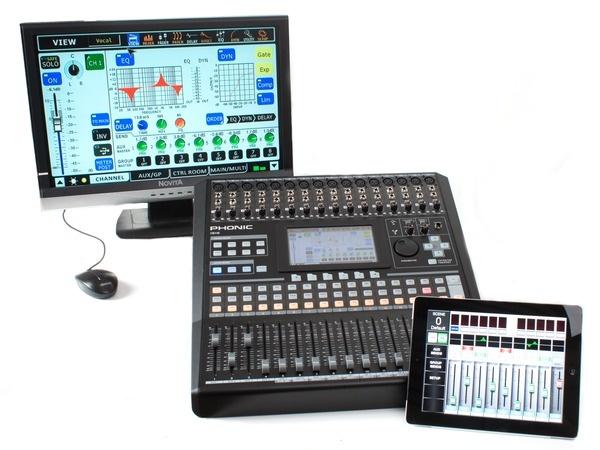 Test: Digitalmischpult Phonic IS16