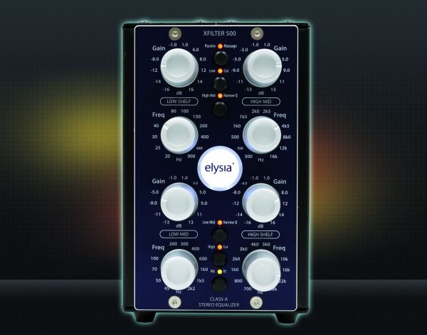 Test: Equalizer Elysia xfilter 500