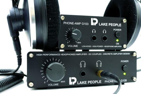 Test: Kopfhörerverstärker Lake People G103 und G109