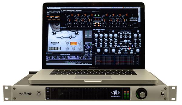 Test: Firewire Audio-Interface Universal Audio Apollo 16