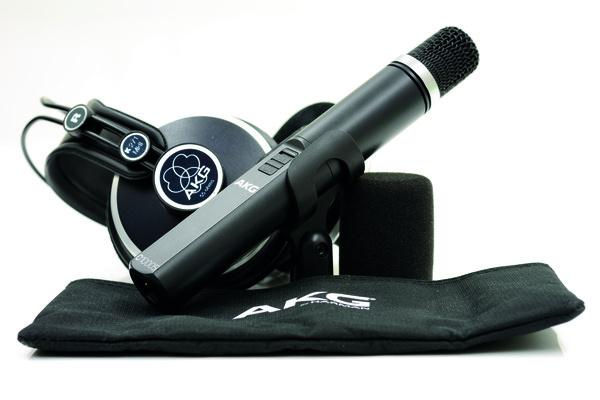 Test: Kleinmembran-Mikrofon AKG C 1000 S