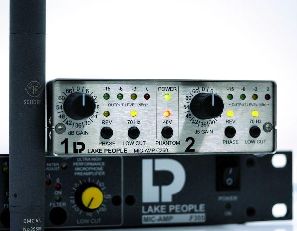 Test: Mikrofon-Vorverstärker Lake People MIC-PRE C360