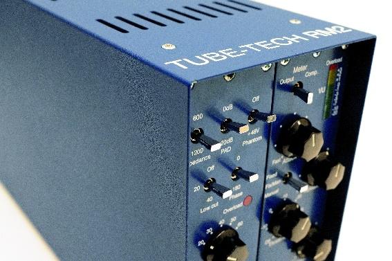 Mikrofon-Vorverstärker und Modularsystem Tube-Tech MP 1A & RM2 mit PM 1A & CM 1A