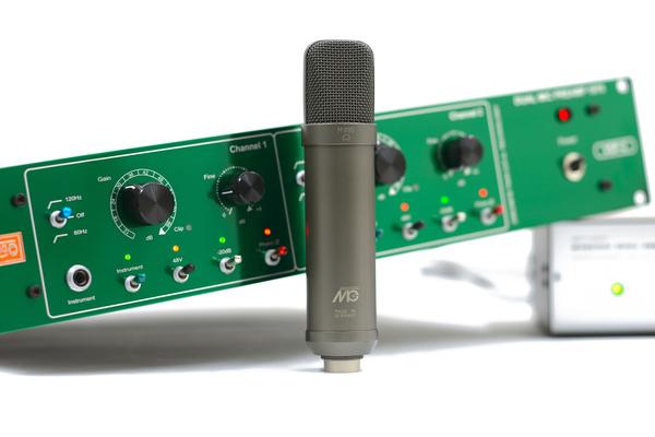 Test: Mikrofonvorverstärker Vertigo VSP-2