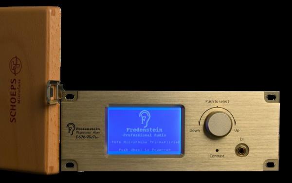 Test: Mikrofon- und DI-Vorverstärker Fredenstein F676