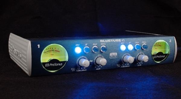 Test: Mikrofonvorverstärker Presonus Blue Tube DP V2
