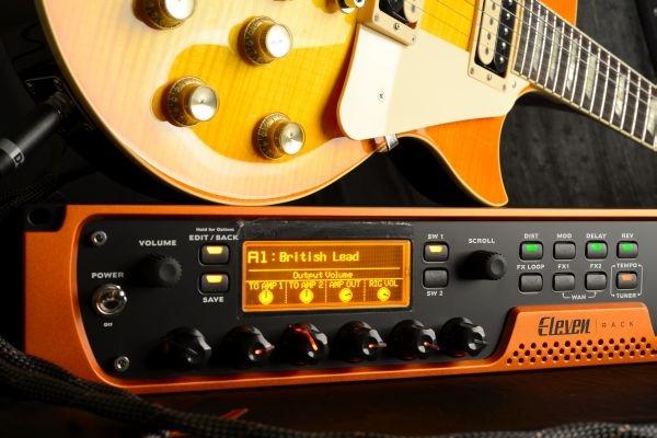 Test: Gitarren-Multieffektprozessor und Audio-Interface Avid Eleven Rack