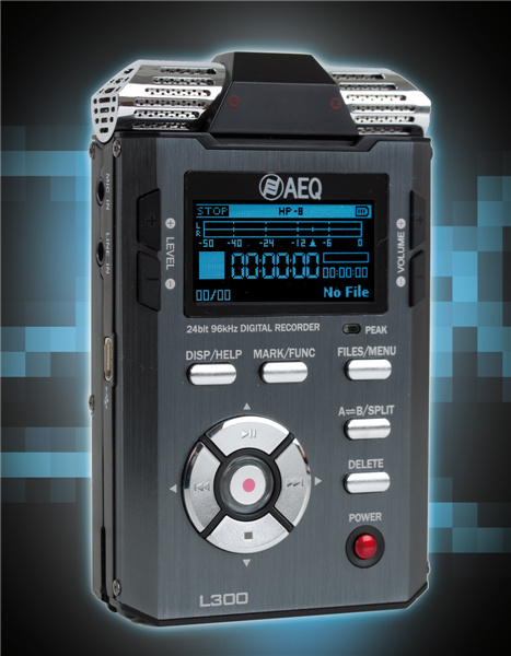 Test: Stand-alone-Recorder AEQ L300