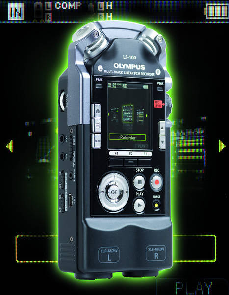 Test: Stand-alone-Recorder Olympus LS-100