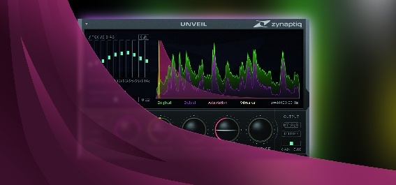 Test Mastering-/Post-Production-Plug-in Zynaptiq Unveil 1.5