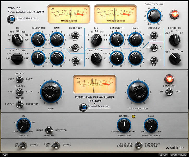 Test: Plug-in-Bundle Summit Audio Grand Channel