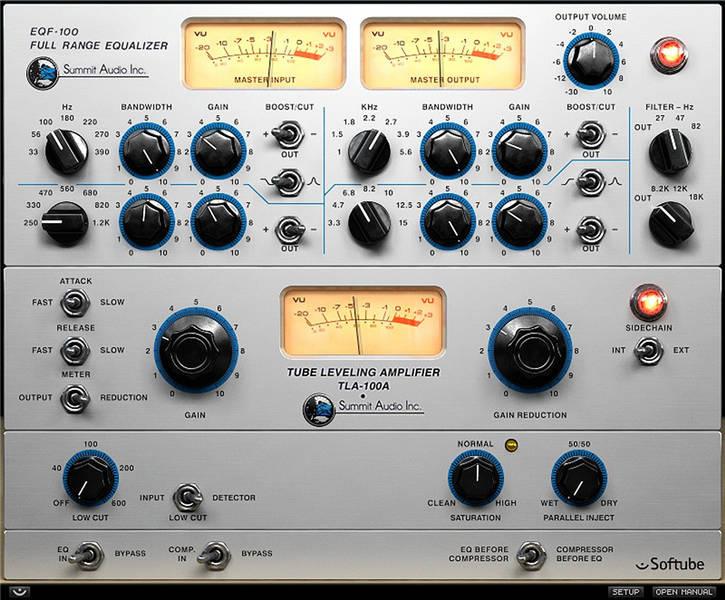 Test: Plug-in-Bundle Summit Audio Grand Channel