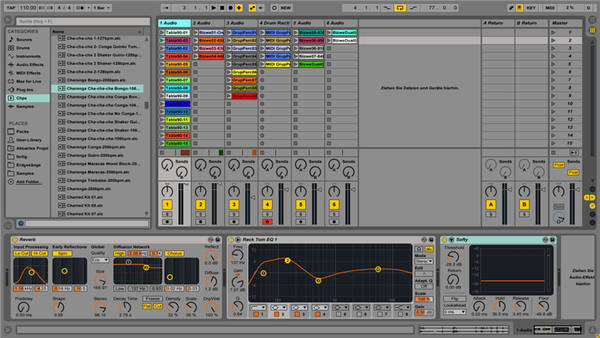 Test: Sequenzer Ableton Live 9 Suite (Teil 1)