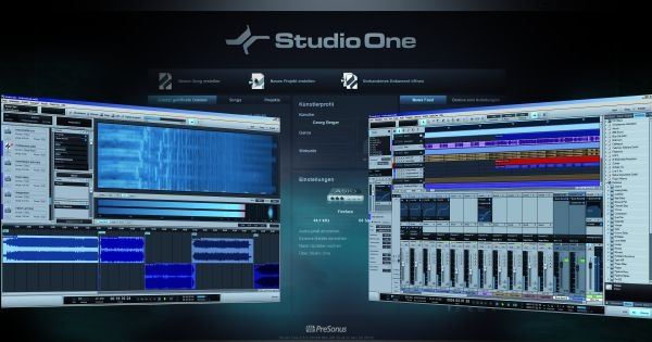Test: Sequenzer Presonus Studio One 2.5 Professional