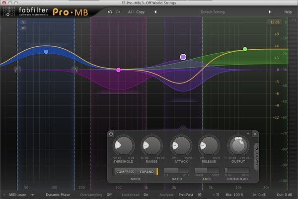 Test: Kompressor-Plug-in Fabfilter Pro-MB