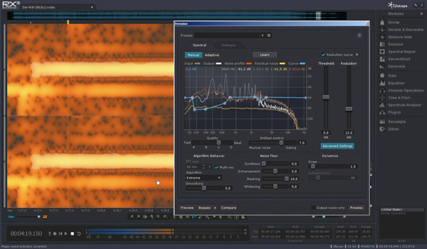 Test: Audio-Restaurierungs-Software Izotope RX 3 Advanced