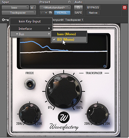 Test: Software-Tool Wavesfactory Trackspacer 2.0