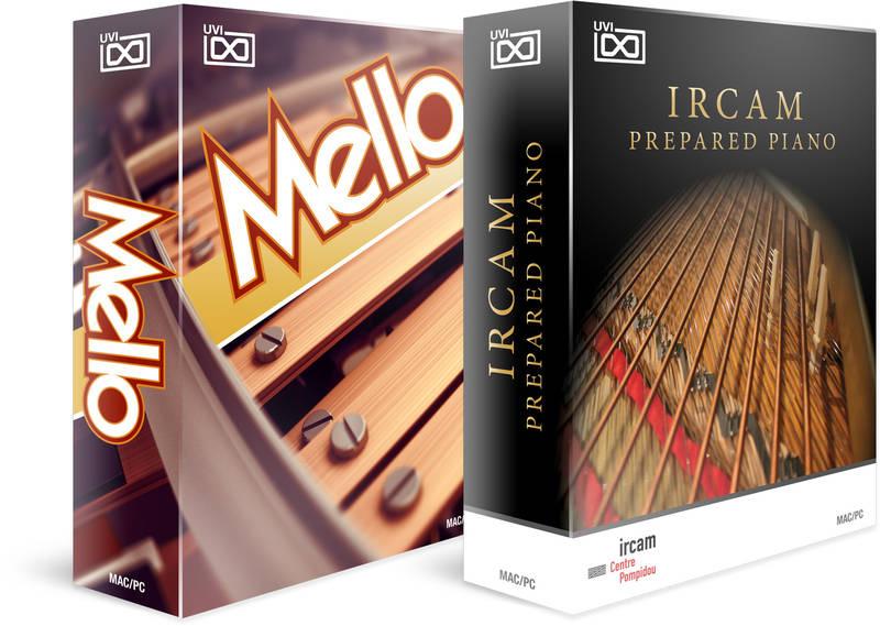 Test: Sample Library UVI Mello und IRCAM Prepared Piano