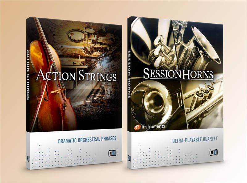 Test: Sample-Library Native Instruments Action Strings und Session Horns