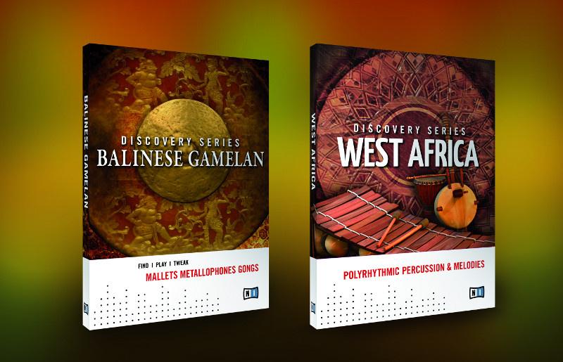 Test: Sample Librarys Native Instruments Balinese Gamelan und West Africa