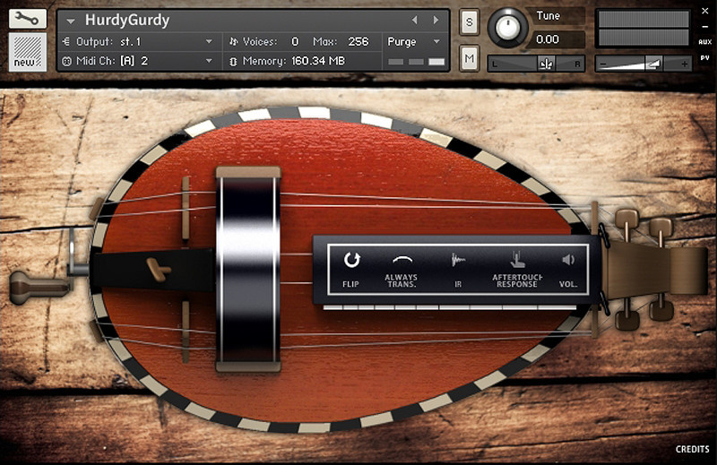Test: Sample Library Sonokinetic Hurdy Gurdy
