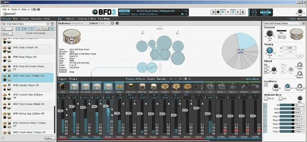 Test: Virtuelles Drumsampling-Instrument FXpansion BFD3