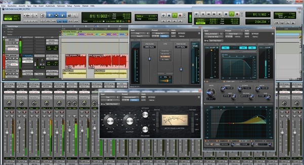 Test: Sequenzer Avid Pro Tools 11