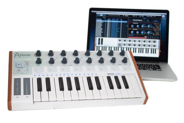 Test: virtuelles Instrument und Controller Arturia Minilab