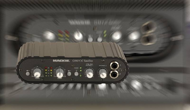 Test: Audio-Interface Mackie Onyx Satellite