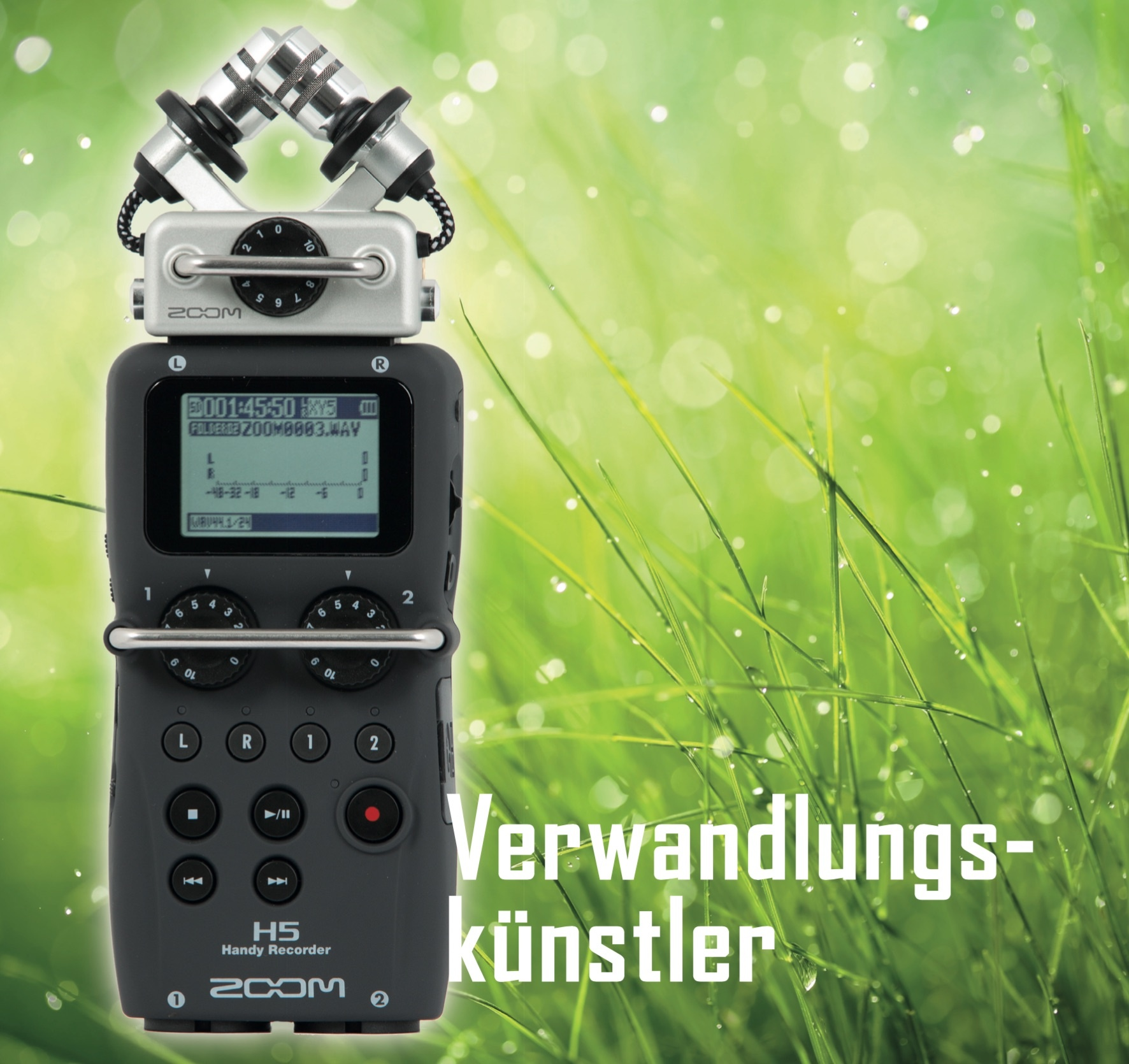 Stand-alone-Recorder Zoom H5