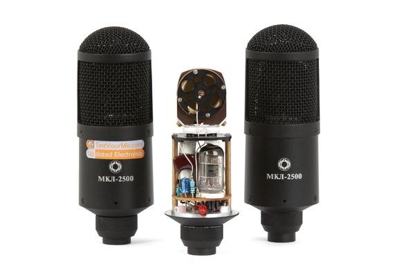 Test: Röhren-Großmembranmikrofone Oktava MKL 2500 UPdated Electronics Stufe 1 und Stufe 2