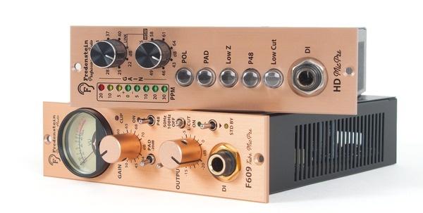 Test     Mikrofon-Vorverstärker Fredenstein F609 und HD MicPre