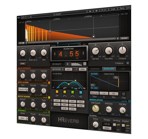 Test     Hall-Plug-in     Waves H-Reverb