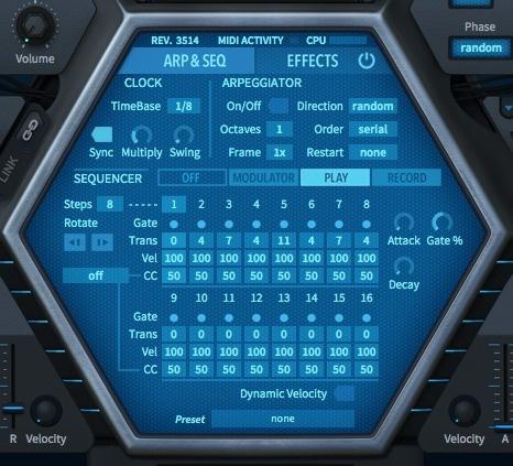 Test     Virtuelles Instrument     U-He HIVE