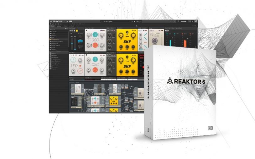 Test Virtuelles Instrument Native Instruments Reaktor 6