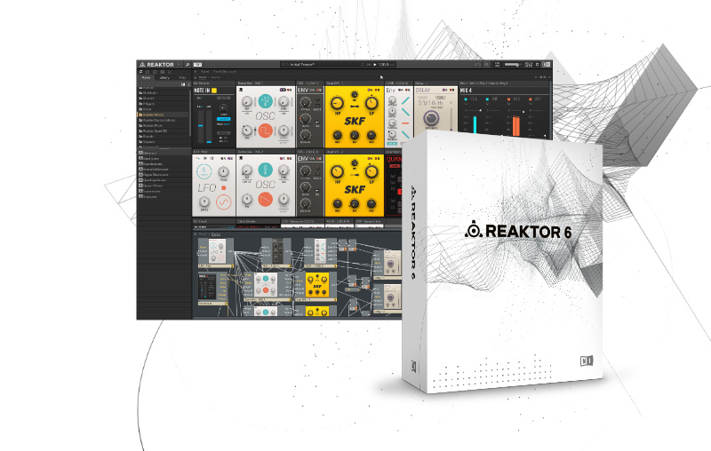 Test Virtuelles Instrument Native Instruments Reaktor 6