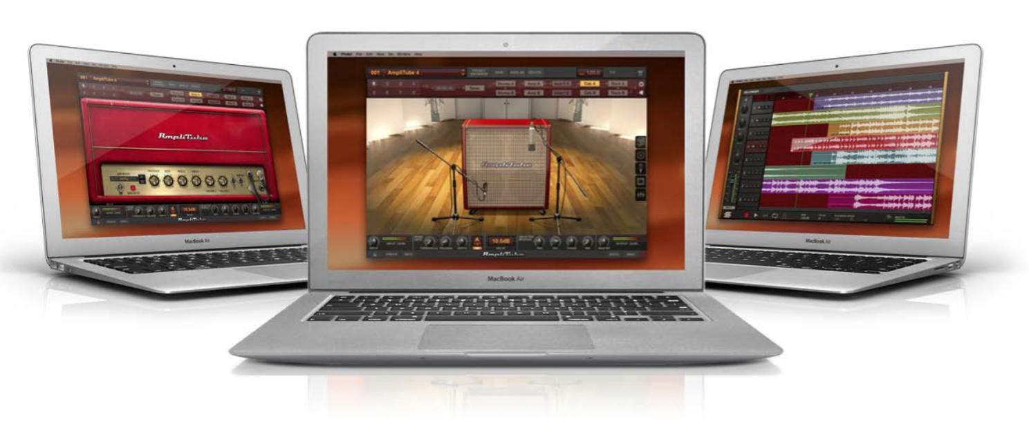 Test Gitarren-Amp-Simulation IK Multimedia Amplitube 4