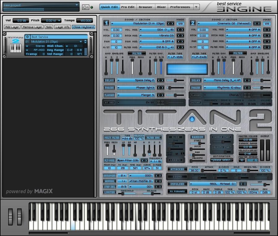 Kurztest: Best Service Titan 2