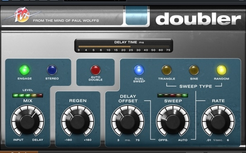 Kurztest: Softube Fix Flanger and Doubler