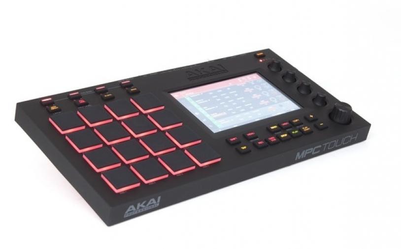 Test: Groove Box  Akai MPC Touch