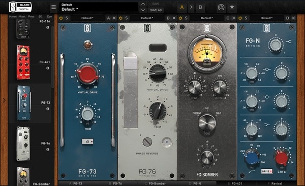 Test     Effekt-Plug-in     Slate Digital Virtual Preamp Collection & Dynamic Impact Enhancer FG Bomber